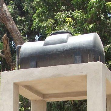 De l'eau pour la case de santé de Bélaye et la maternité villageoise de Kataba1