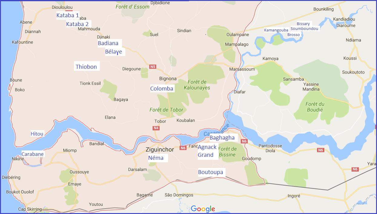 Jardins marachers et cases de sant en Casamance Hpital des