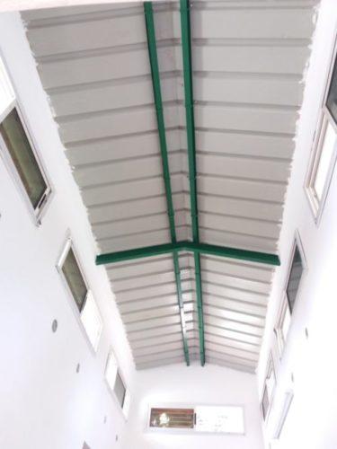 Magnifique toiture permettant une aération optimale